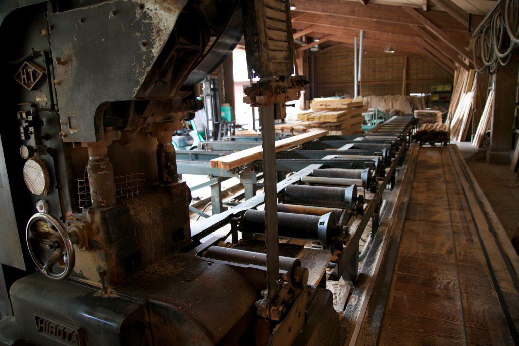 たくさんの機械があります!