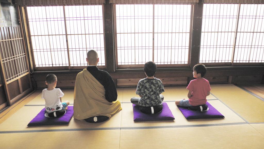 山のお寺de THE禅体験